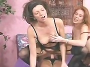 Pretty girls in lesbo sex adventure